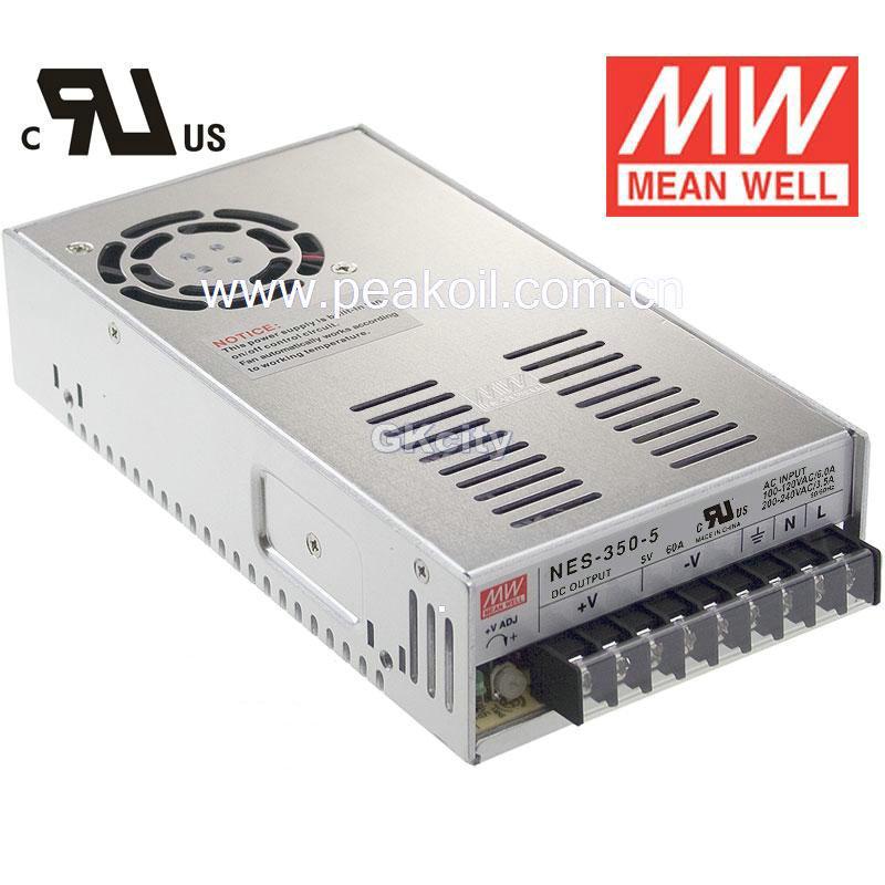 明纬开关电源(mw)nes-350-12行情