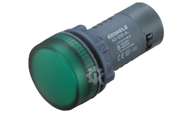 作为电磁起动接触器,继电器及其他电气线路的控制及信号指示灯之用.
