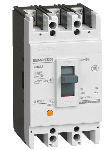 正泰(chint) 塑壳断路器 nm1-63s/33002 25a
