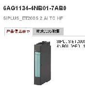 西门子(SIEMENS) 模拟量输入模块 6AG1134-4NB01-7AB0